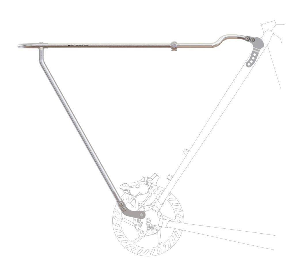 Bagagedrager voor fiets schijfremmen