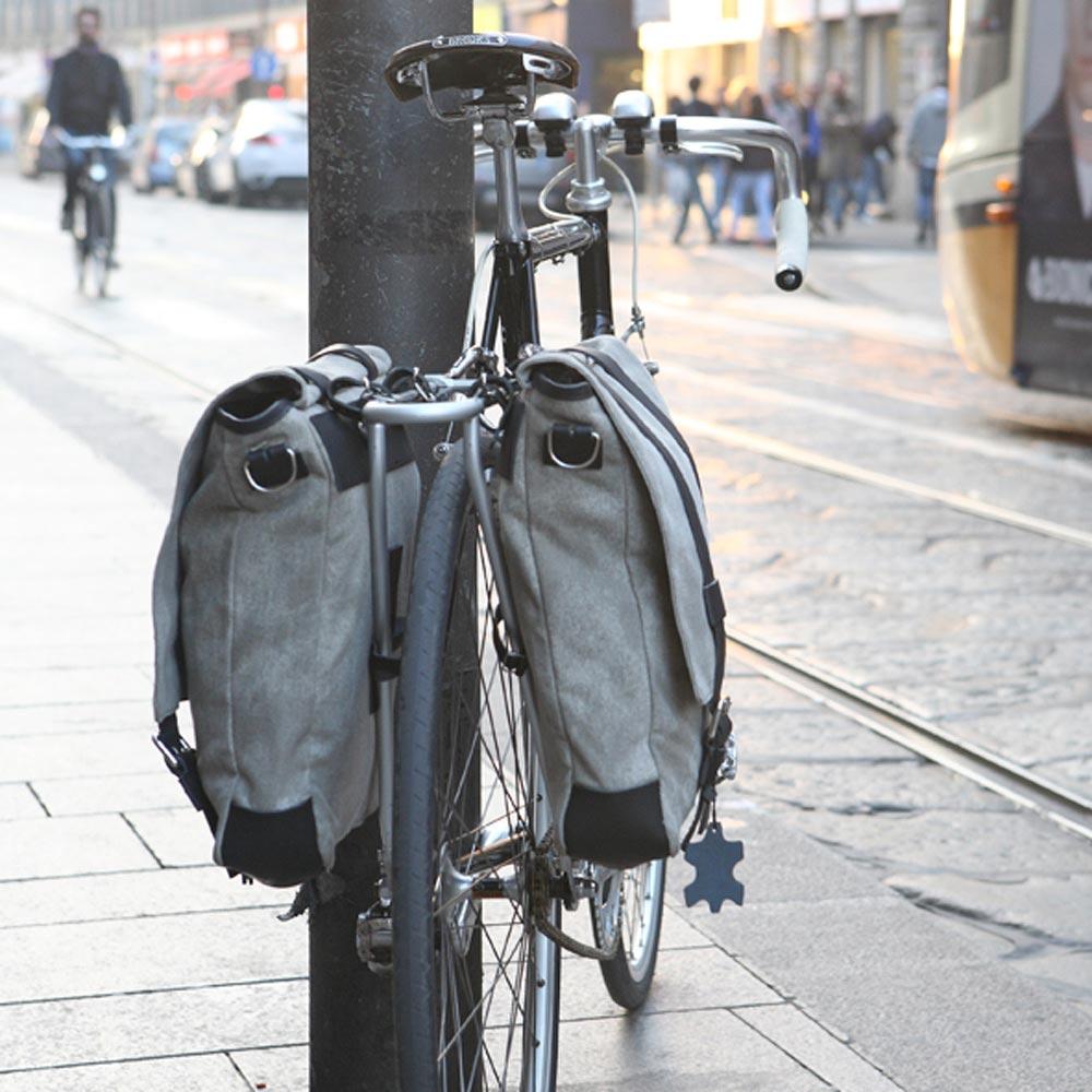 Bagagedrager voor fiets fietstassen Brooks