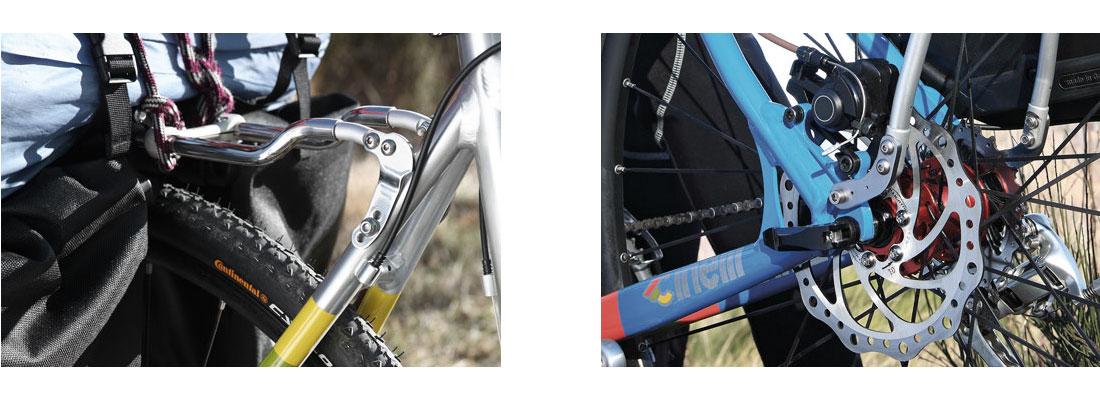 Portapacchi posteriore BAC Rack-RH freno disco
